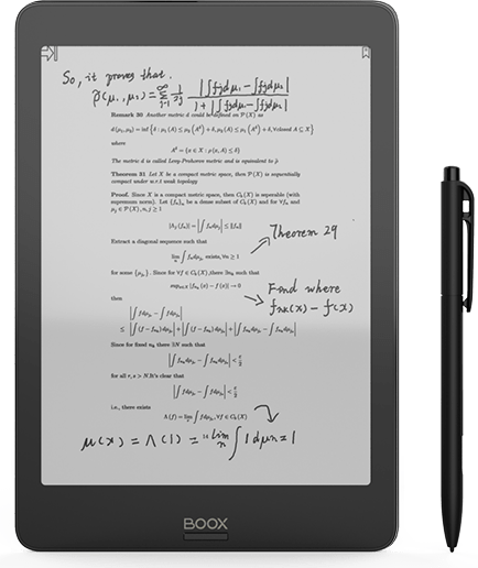 best tablet for note taking BOOX Nova Pro 7.8 E-Reader