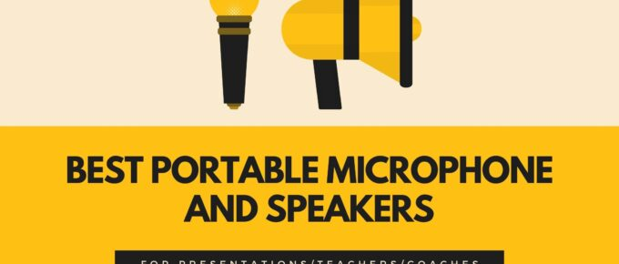 portable microphone and speakers for teachers and others